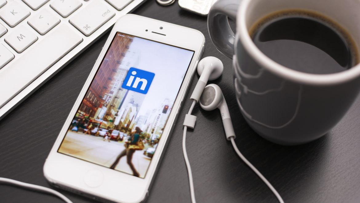 HILVERSUM, NETHERLANDS - JANUARY 28, 2014: Linkedin is a social networking website for people in professional occupations. As of June 2013 more than 259 million users in more than 200 countries.