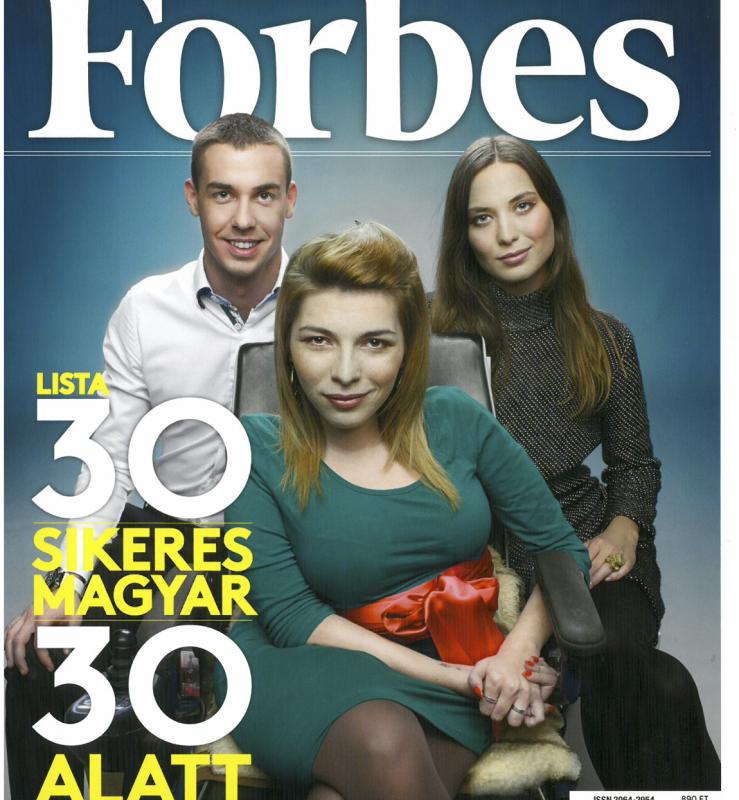 Forbes – 30 sikeres magyar 30 alatt kiadás, Portré: Your Network is Your Net Worth