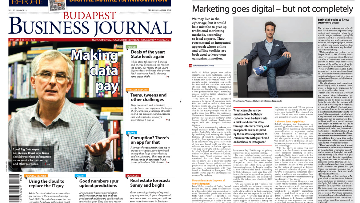 Marketing goes digital? Not completely