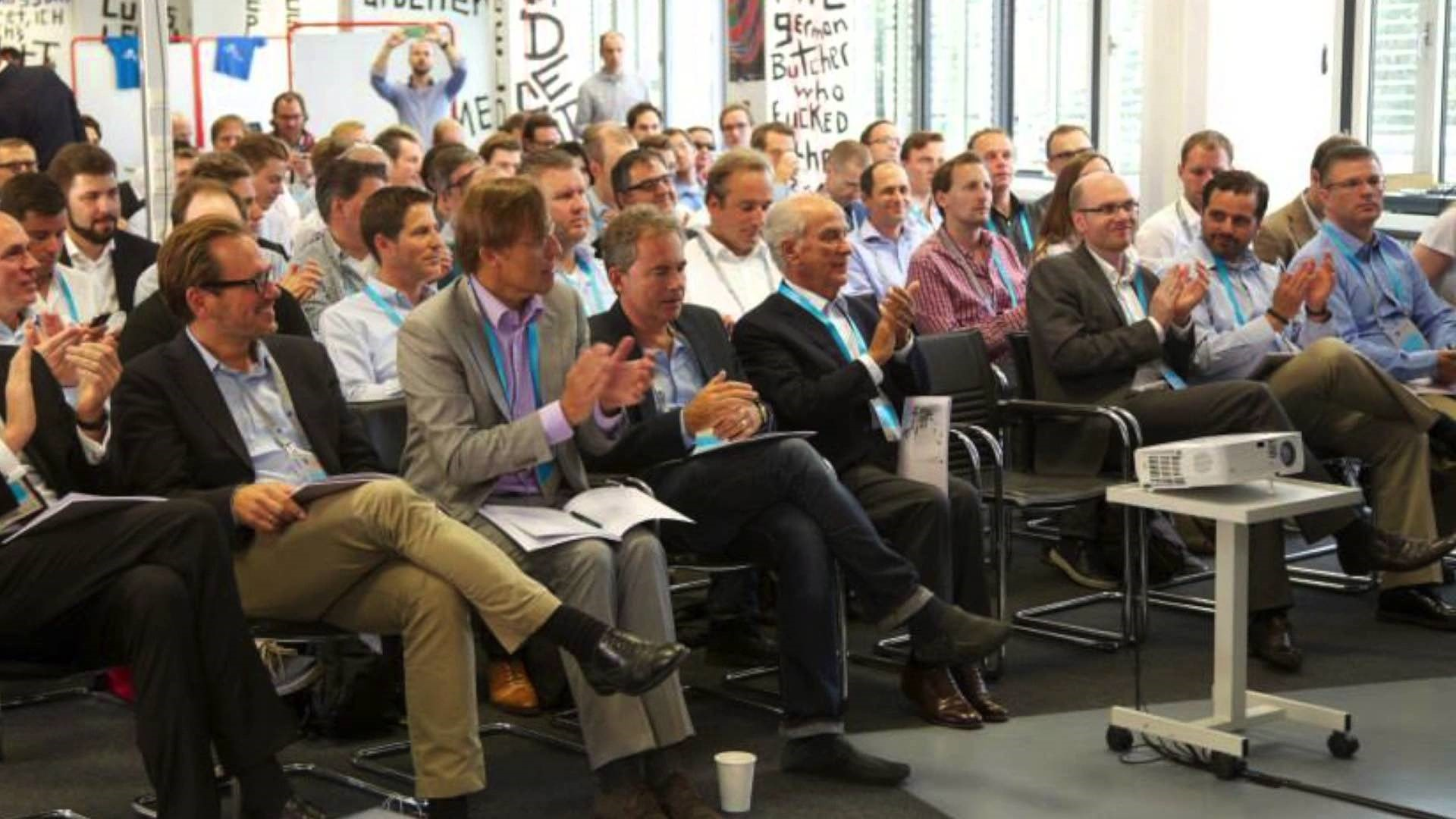 Axel Springer Plug and Play Pitch Day