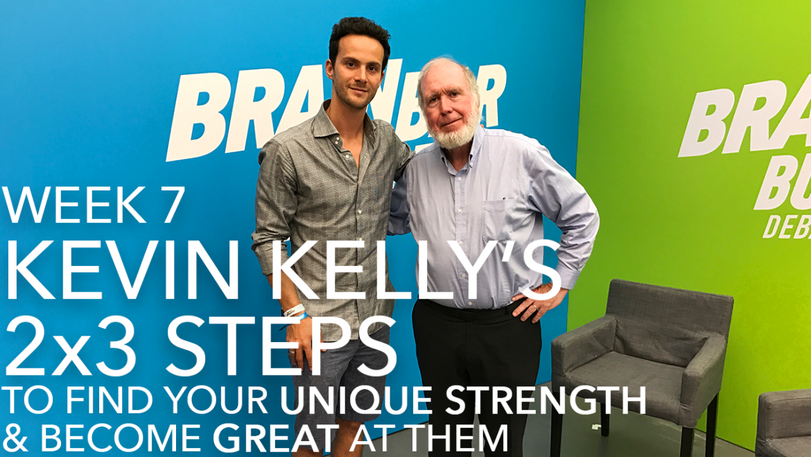 Peter Szanto with Kevin Kelly